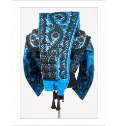 Traje de Torero Azul Azabache